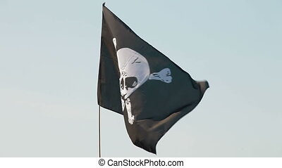 Blackjack - Pirate flag in the wind