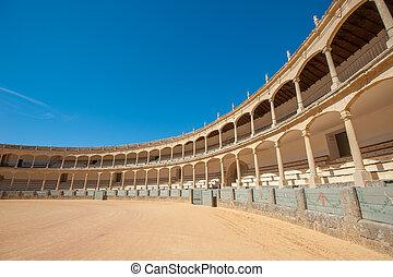 Ronda, plaza de toros, españa