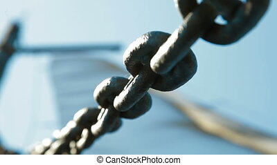 Chain Links - Rusty Chain Links