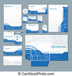 Technology stationery set - Stationery set with technology...