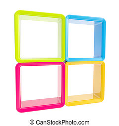 Copyspace window shelf set showcase - Copyspace window...