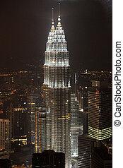 Petronas Twin Towers, Malaysia - KUALA LUMPUR - NOV 26: The...