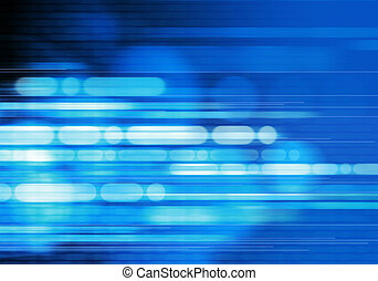 Abstract Blue Background - digitally generated image of blue...