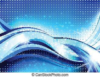 Abstract Wave Flow Composition