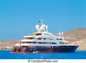 luxe, yacht