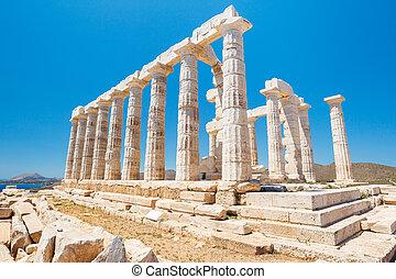 Grécia, Templo, deuses