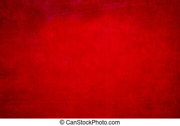 Red metal background - Red painted metal background