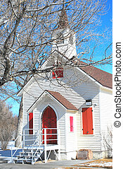 Country church. - Country church in the winter season.