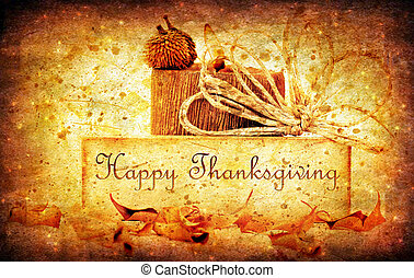 Thanksgiving holiday background
