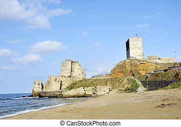 Sinop Castle. At the tip of the Black Sea in Turkey