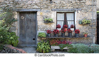 House in Beget, Catalonia