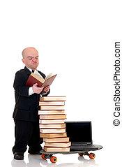 Surfeo, Enano, biblioteca,  internet