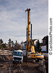 Drilling machine - Drilling and concreting building...