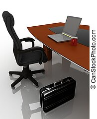 Lugar de trabajo, tabla, negociaciones