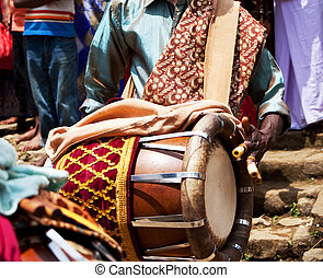 Drums - Drum in Lalibela,Ethiopia