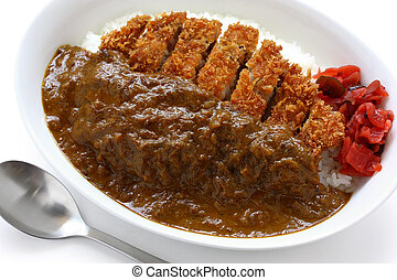 katsukare, japanese curry rice