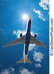 Airliner - Plane taking off