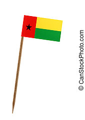 Flag of Guinea Bissau - Tooth pick wit a small paper flag of...