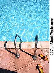 colpetto-tonfi, stagno, nuoto
