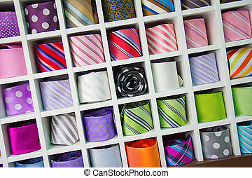 coloridos, laço, cobrança