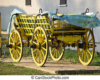 old yellow coach