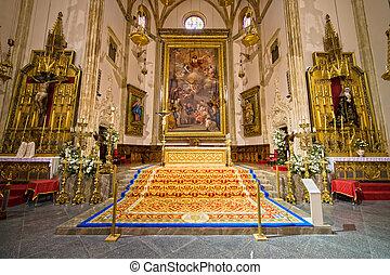Iglesia de San Jeronimo El Real Interior - Interior of the...