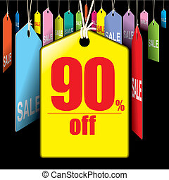 Tag sale 90% - Tag for sale 90% off