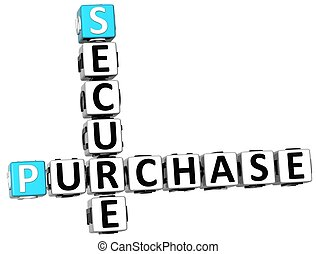 3D Secure Purchase Crossword