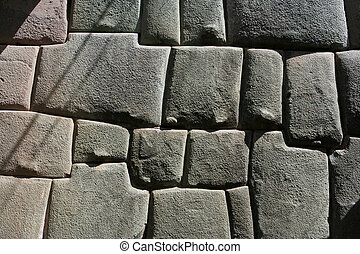 Inca stonemason work - Perfect historic stonemason work at...