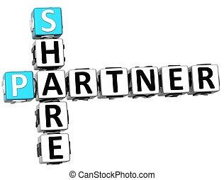 3D Share Partner Crossword
