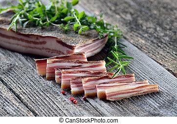 Bacon snack