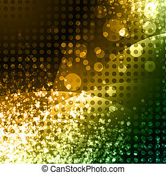 abstract glowing neon background