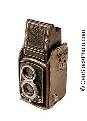 old camera - old vintage film camera