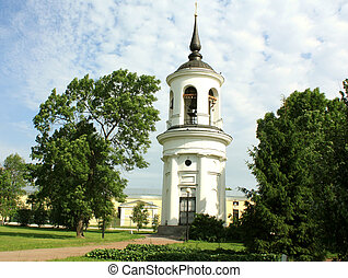 Belfry of the Sophia Cathedral in Tsarskoe Selo, built by...