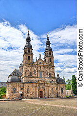 Fuldaer Dom Cathedral in Fulda, Hessen, Germany