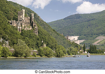 Castle Reichenstein Middle Rhine Valley - Castle...