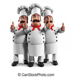 à, kuchnia, mistrz kucharski