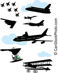 Collection of planes