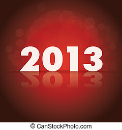 2013 theme on dark background