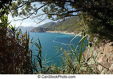 Cinque Terre-coast between Manarola and Corniglia