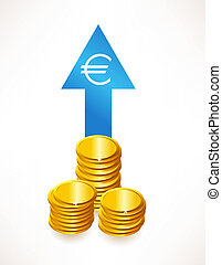 The concept of the growth rate of money. Euro