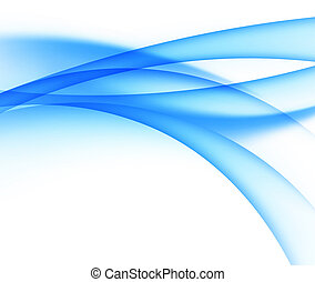 abstract vector water wave