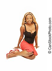 Young Jamaican girl 33. - An blond young Jamaican girl...