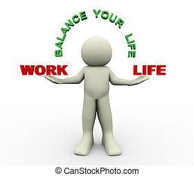 3d man - balance your life