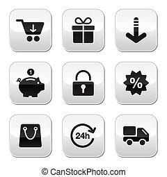 Shopping buttons for website / onl