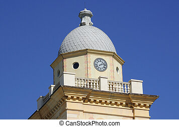 Clock Tower, Dome Roof Tower