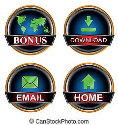Unique icon web