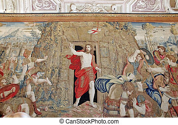 Resurrection of Christ, tapestry