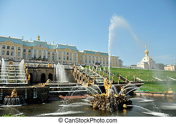 Peterhof Palace and Gardens - Peterhof Palance and Gardens...