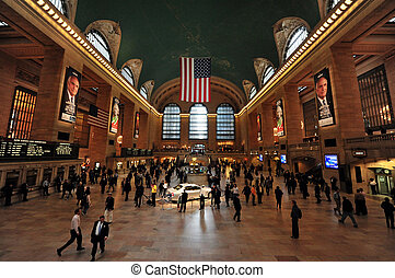 Travel Photos of New York - Manhattan - The Grand Central...